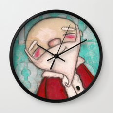 Mr. Claus Wall Clock