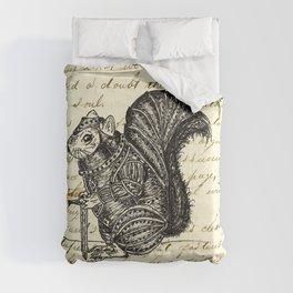 Warrior Squirrel Comforters