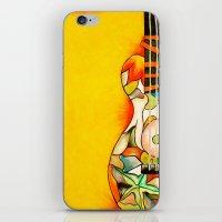guitar iPhone & iPod Skins featuring Guitar  by Alexa Brooke Rutledge