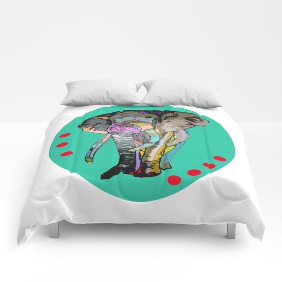 RAINBOWPHANT - colour pencil Comforters