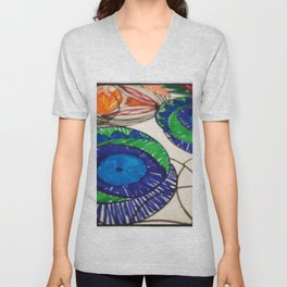 Blue Eyes  Unisex V-Neck
