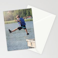 Harry Leaps! Stationery Cards