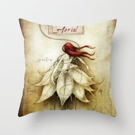 Aerial Throw Pillow