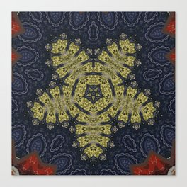 Better than Yours Colormix Mandala 15 Canvas Print