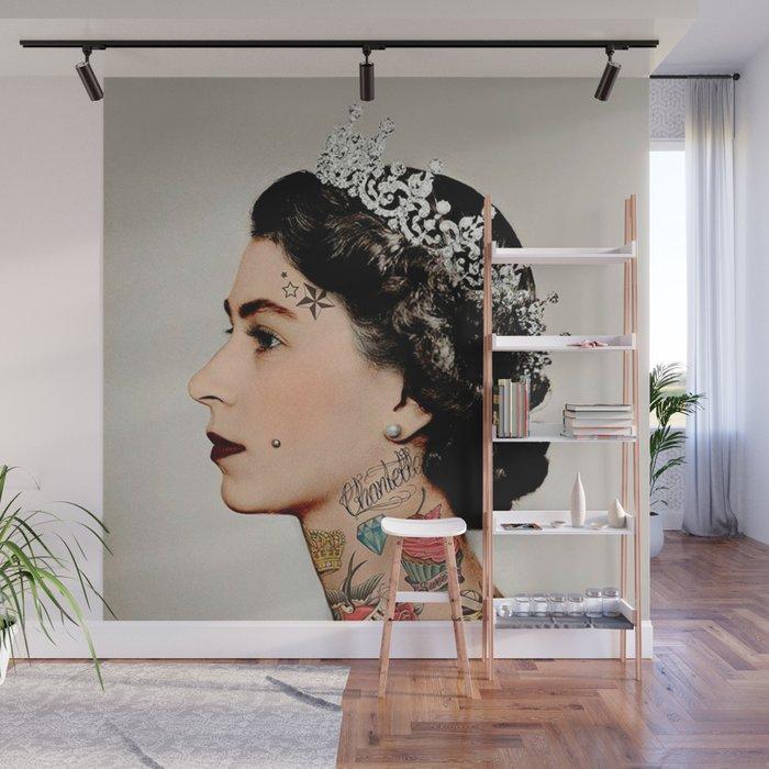 Rebel Queen Wall Mural