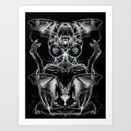 Bat Dutchess Art Print