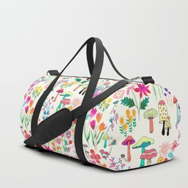 The Odd Floral Garden I Duffle Bag