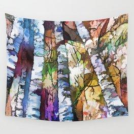 Aspen Trees Wall Tapestry