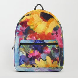 Sensational Sunflower Bouquet Backpack
