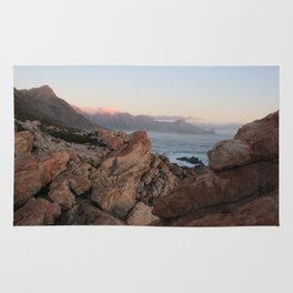 Where Dinosaurs Roamed - Gordons Bay, South Africa Rug
