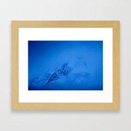 Mkinvartsveri mountain Framed Art Print