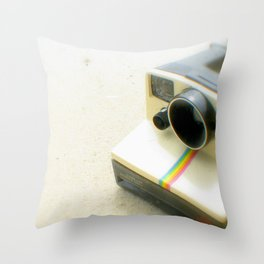 Polaroid Camera Throw Pillow