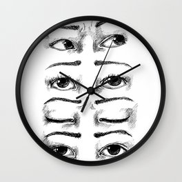 Eyesight Wall Clock