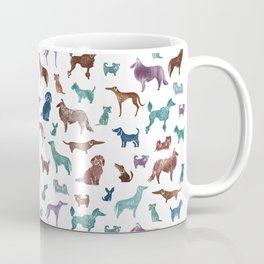 Doggies all over Coffee Mug