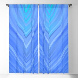 stripes wave pattern 3 c80 Blackout Curtain