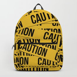 Caution Backpack