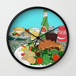 Scottish Beef Steak & Guinness Pie Wall Clock