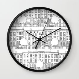 blocks of Brooklyn Wall Clock