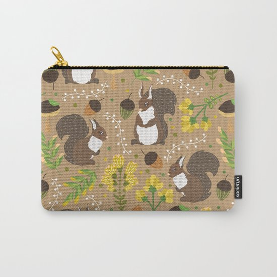 Chocolate squirrels Carry-All Pouch