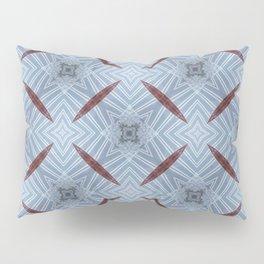 American Folk Red & Blue No. 12 Pillow Sham