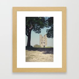 somebody'll see you up there... Framed Art Print