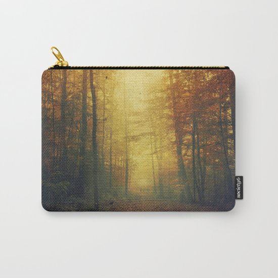 Autumn Morning Mood Carry-All Pouch