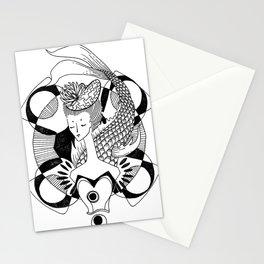 Fishy Lady Stationery Cards