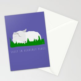 Sheep in Heavenly Peace Stationery Cards
