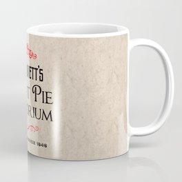 Mrs. Lovett's Meat Pie Emporium (Sweeney Todd) Coffee Mug