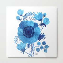 BLUES Metal Print