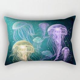 Jeelyfish Rectangular Pillow