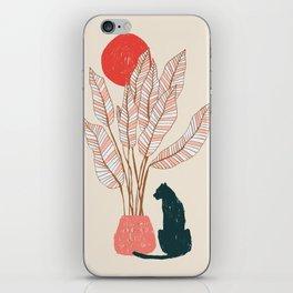 Summer panther iPhone Skin