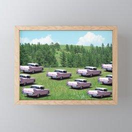 Thinning the Herd Framed Mini Art Print