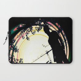 man on the roof Laptop Sleeve