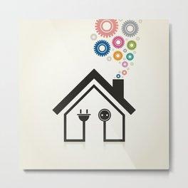 Home2 Metal Print