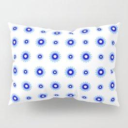 soft Flower 5- blue Pillow Sham