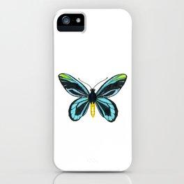 Queen Alexandra' s birdwing butterfly iPhone Case