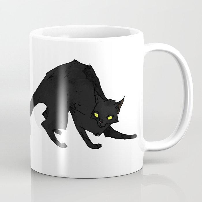 The Black Cat Coffee Mug By Abigaillarson Society6