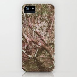 Wetland Trees (colour) iPhone Case