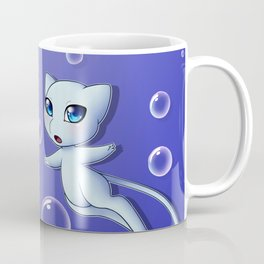 Shiny Mew Bubbles Coffee Mug