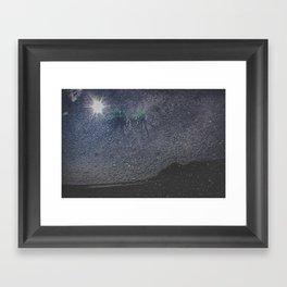 Alaska, Exposed: Beach as Sky Framed Art Print