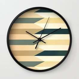 Pencil Clash I Wall Clock