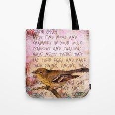 Birds have nests Tote Bag