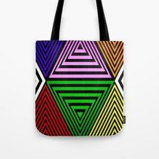 Infinite Pyramids Tote Bag