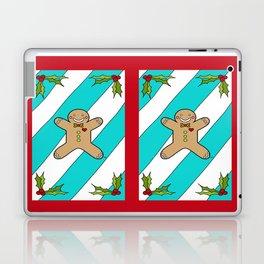 Holly Jolly Gingerbread Man Laptop & iPad Skin