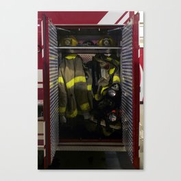 Fire Stations 2 Canvas Print