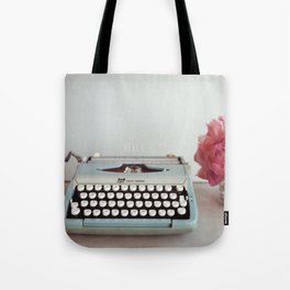 hello with text Tote Bag
