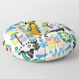 Scandinavian Pugs Floor Pillow
