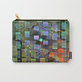 Blocked and Unbound Carry-All Pouch