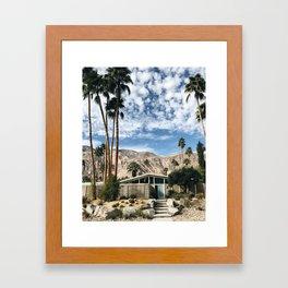 Home Sweet Home / Palm Springs Framed Art Print